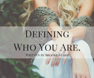 Defining Who You Are cover
