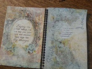Gratitude open journal