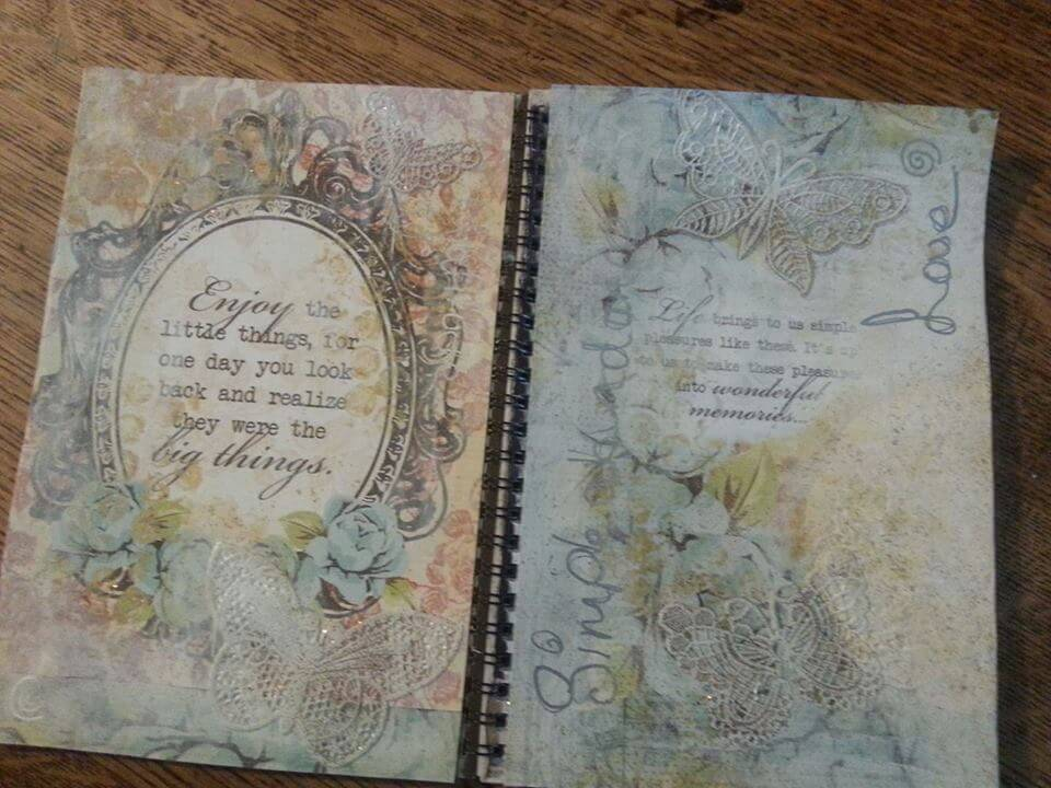 Gratitude open journal