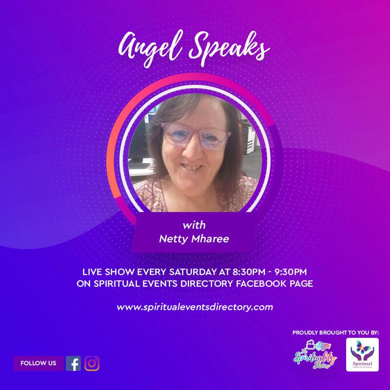 angel speaks show graphic